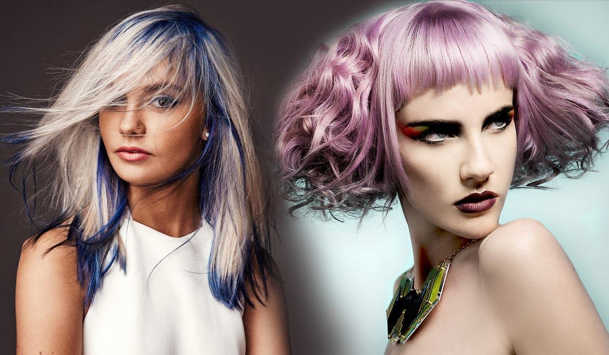 Blond farby ľahko dostanú slávnostný nádych do spoločnosti pomocou farby.