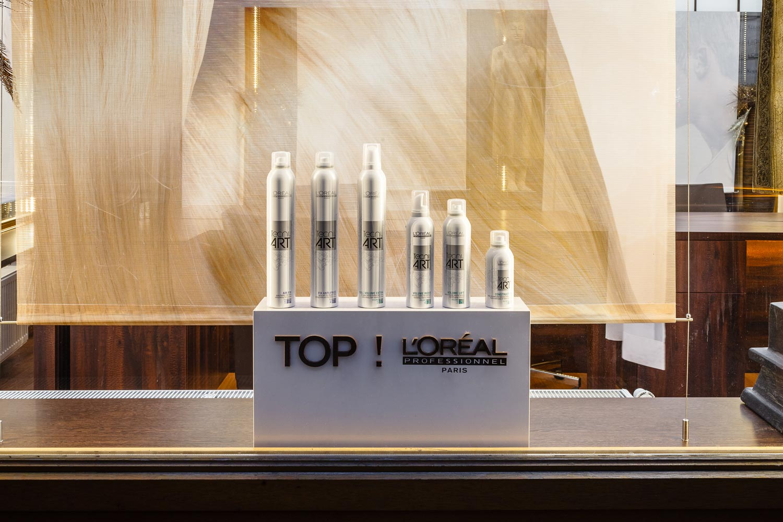 V kaderníctve LIQUID si môžete zakúpiť profesionálnu vlasovú kozmetiku L'Oréal Professionnel.
