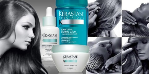 Trápi vás citlivá vlasová pokožka? Kérastase ponúka kompletné riešenie v boji s citlivou vlasovou pokožkou v rade produktov Sensidote Dermo-Calm.