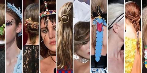Aké trendy účesy 2015 nás dostanú tento rok? Teraz sa pozrieme na tie, ktoré ozvláštnia módne a mnohokrát netradičné a extravagantné vlasové doplnky!