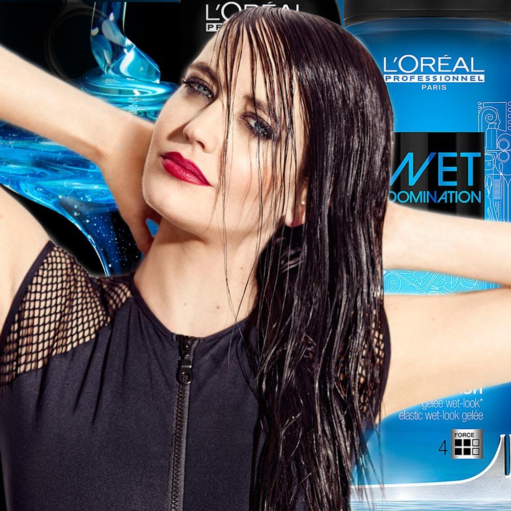 Mokrý vzhľad účesu je hitom sezóny a tiež vieme, ktorý stylingový prípravok pre neho použiť. Je z radu Techni.Art a volá sa Wet Domination. Tvárou nového stylingového radu sa stala Bond girl Eva Green.
