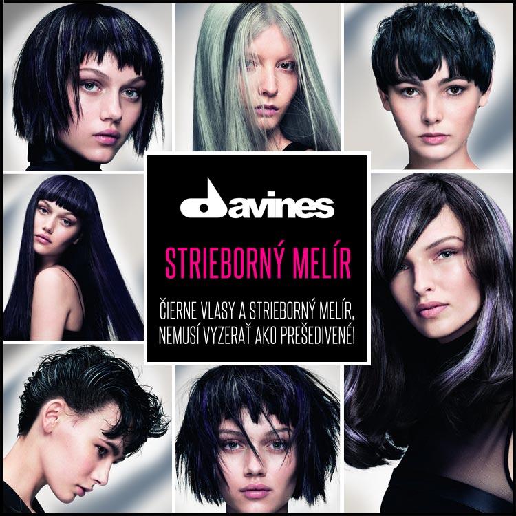 Čierne vlasy, ktorých osvieži strieborný melír, nemusí vyzerať ako prešedivené! Pozrite sa na exkluzívne melíry do tmavých aj čiernych vlasov!