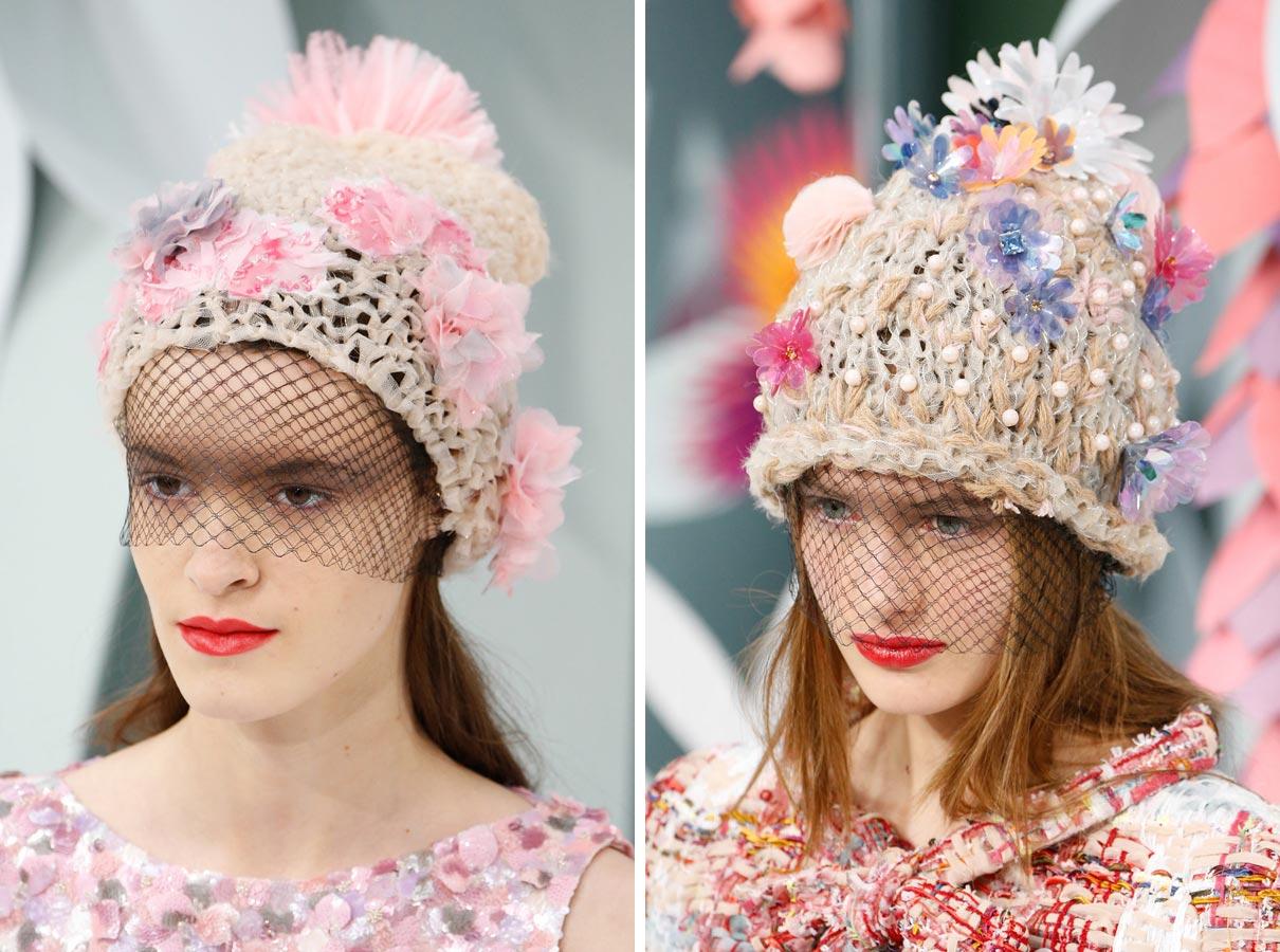 Čiapka ako Haute Couture móda podľa Chanel – nový hit roka 2015!