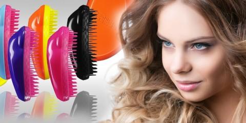 """Tangle Teezer priniesol do česania vlasov skutočnú revolúciu. Plastová """"hračička"""" vie viac než by sa na prvý pohľad zdalo. Rozčeše i nerozčesateľné!"""