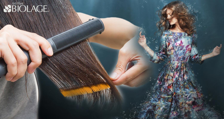 Biolage kauterizácia obnoví vaše vlasy na molekulárnej úrovni! Túto špeciálnu službu hĺbkovej regenerácie poskytujú salóny Matrix.