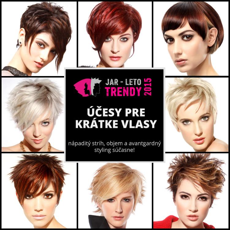 Účesy pre krátke vlasy jar/leto 2015 – vyberte si nový jarný účes! Účesové trendy 2015 sú tento rok bohaté a nápadité.