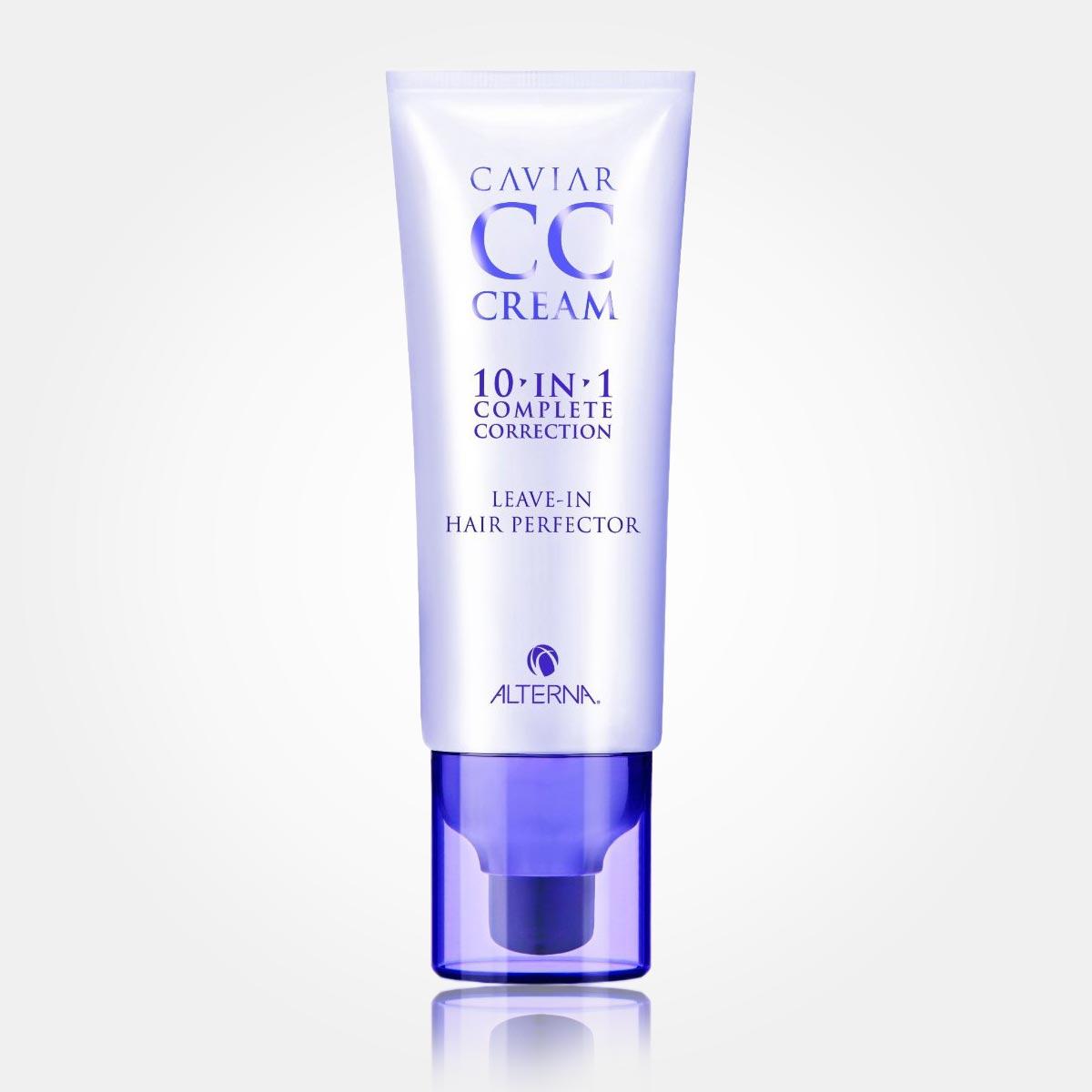 Vlny vo vlasoch – namiesto tradičného stylingu použite vlasový CC krém Alterna Caviar CC Cream 10 in 1.