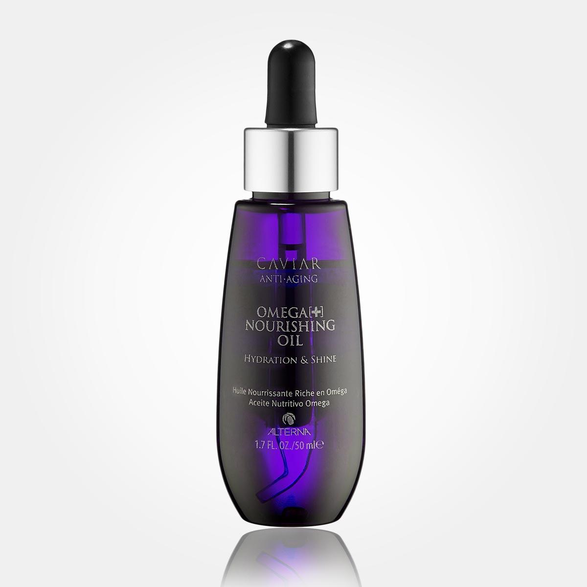Vlny vo vlasoch – namiesto tradičného stylingu použite v Alterna Caviar Anti-Aging Omega+ Nourishing Oil.