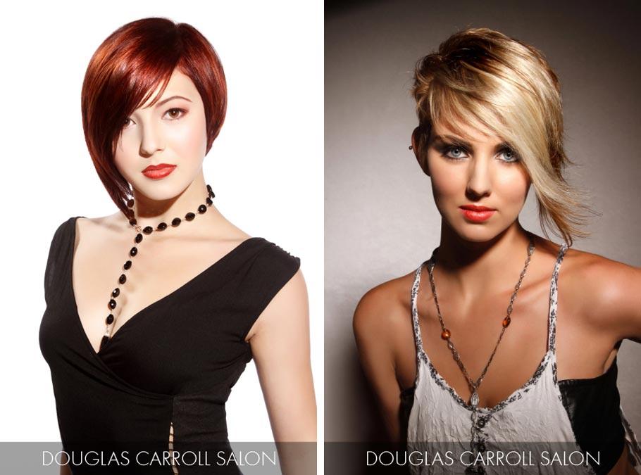 Účesy pre krátke vlasy jar/leto 2015 – trendy 2015 milujú výraznú asymetriu.