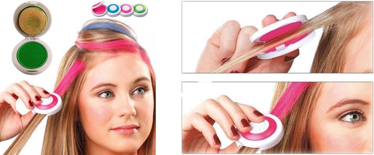 Iný typ kried na vlasy. Umožňuje čistejšiu aplikáciu, ale bohužiaľ poskytuje oveľa obmedzenejší výber farieb a odtieňov.