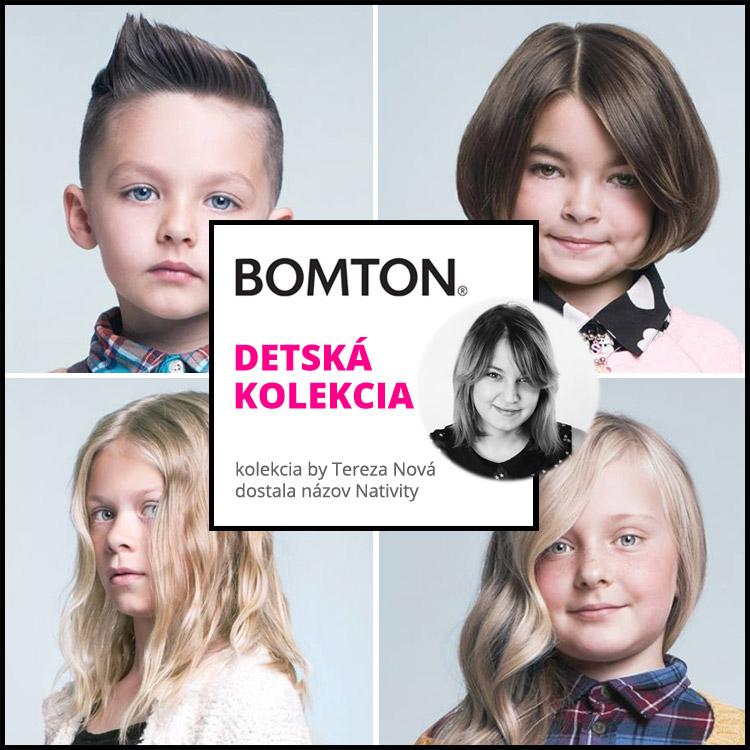 Detská kolekcia účesov 2015 Terezy Novej pre Bomton – Nativity.