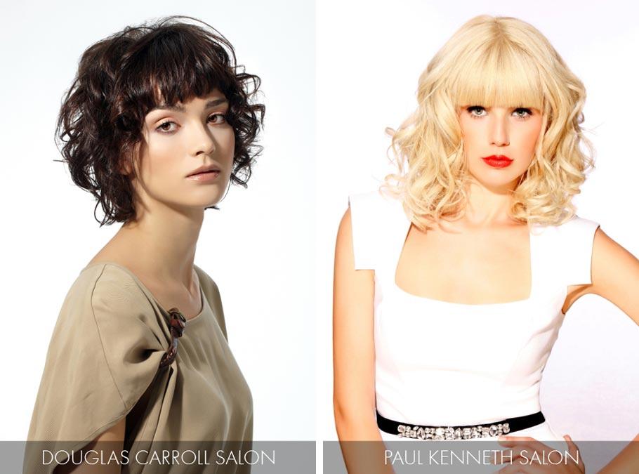 Účesy pre polodlhé vlasy jar leto 2015 – dajte do kontrastu rovné vlasy na  povrchu b6b62d52375