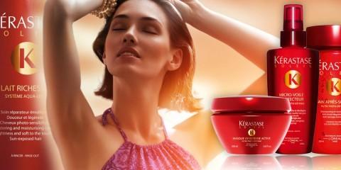 Ak chcete mať po lete rovnako krásne vlasy ako pred ním, je na mieste vlasy v lete chrániť špeciálnou vlasovou kozmetikou, ktorá zaručí slnečnú ochranu.