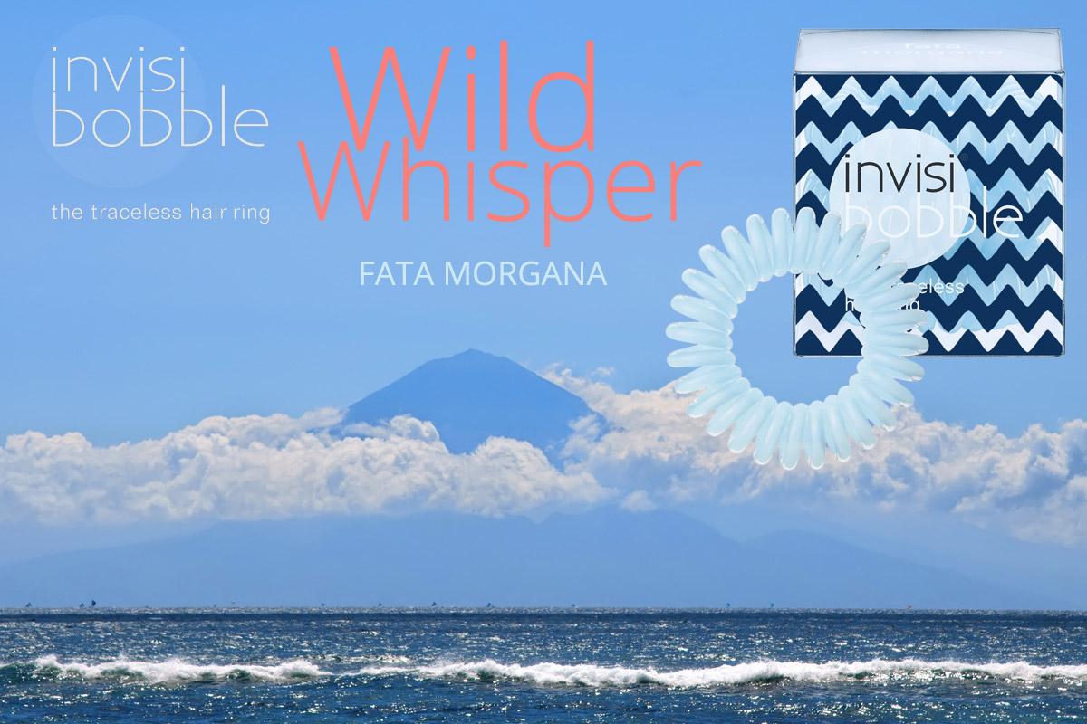 Fata Morgana – Invisibobble gumičky Wild Whisper – limitovaná kolekcia 2015 vo svetlej modrej farbe