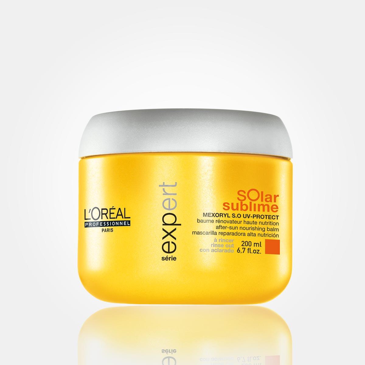 Maska zo špeciálneho radu letnej vlasovej kozmetiky Solar Sublime od L'Oréal Professionnel