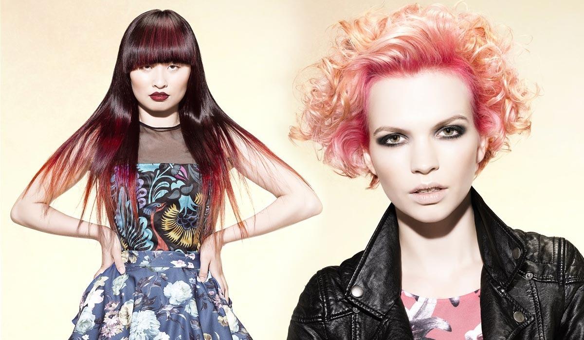 Farby leta pre vlasy konkurujú farbám ovocnej zmrzliny!