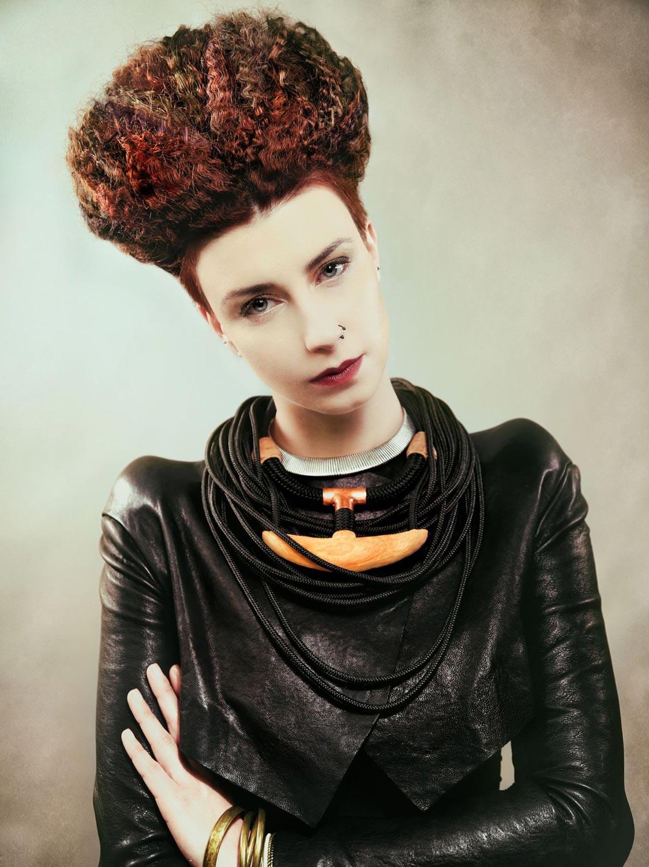 Michaela Kobylková, Salon Na stejné vlně, Brno – nominácia v súťažnej kategórii Color Zoom Collection 2015 GLOBAL CREATIVE COLORIST.