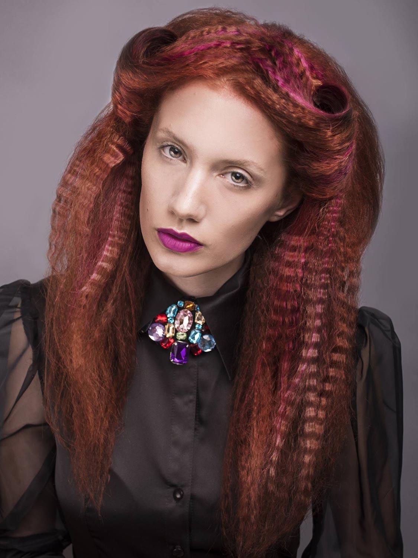 Andrea Medková, Salon MiMaXIV, Brno – nominácia v súťažnej kategórii Color Zoom Collection 2015 GLOBAL PARTNER COLORIST.