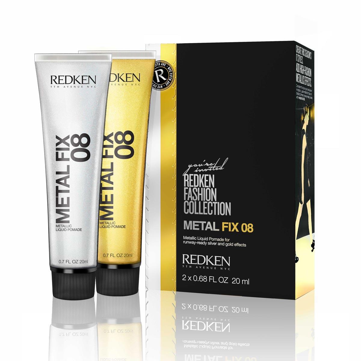 Zlato a striebro do vlasov dodá pomáda, čiže gél na vlasy od Redken. Metal Fix 08 kúpite v salónoch Redken za cenu 19 €.