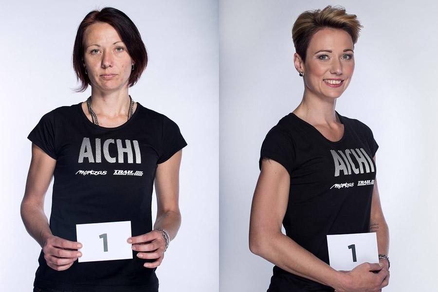 Premeny AICHI 2015 (13. ročník) – Martina Odstrčilová, Studio Marteena, Šumperk (premena 1)