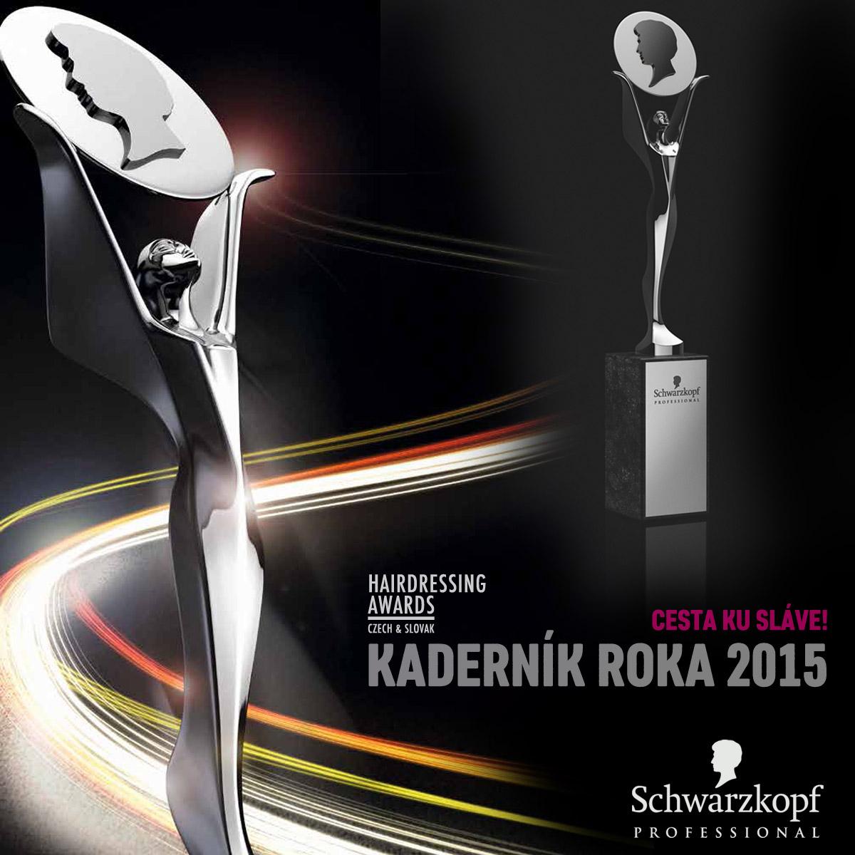 Cena Czech and Slovak Hairdressing Awards – kto ju získa za rok 2015?