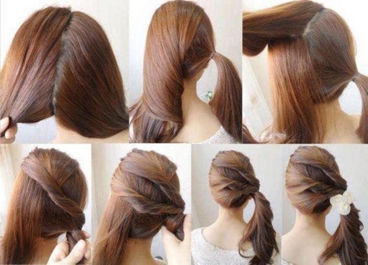 Jednoduché účesy pre dlhé vlasy na leto - Skúste kreatívny vrkôčik na stranu!