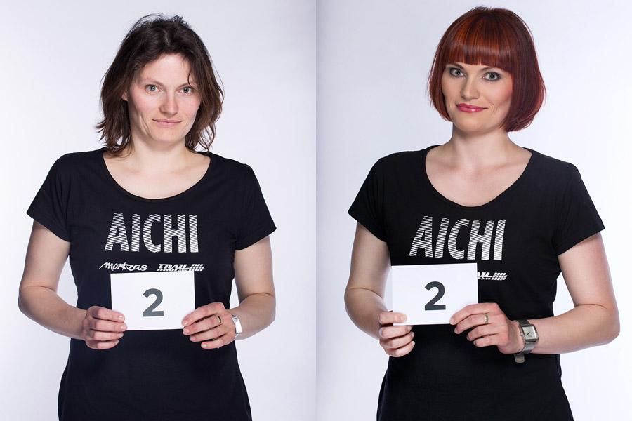 Premeny AICHI 2015 (13. ročník) – Jitka Kočová, Hair Design Unique, Plzeň (premena 2)