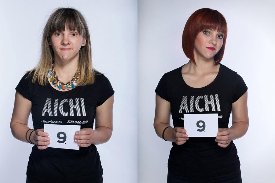 Premeny AICHI 2015 (13. ročník) – Lucie Ungrová, Kaderníctvo Mondani, Židlochovice (premena 9)