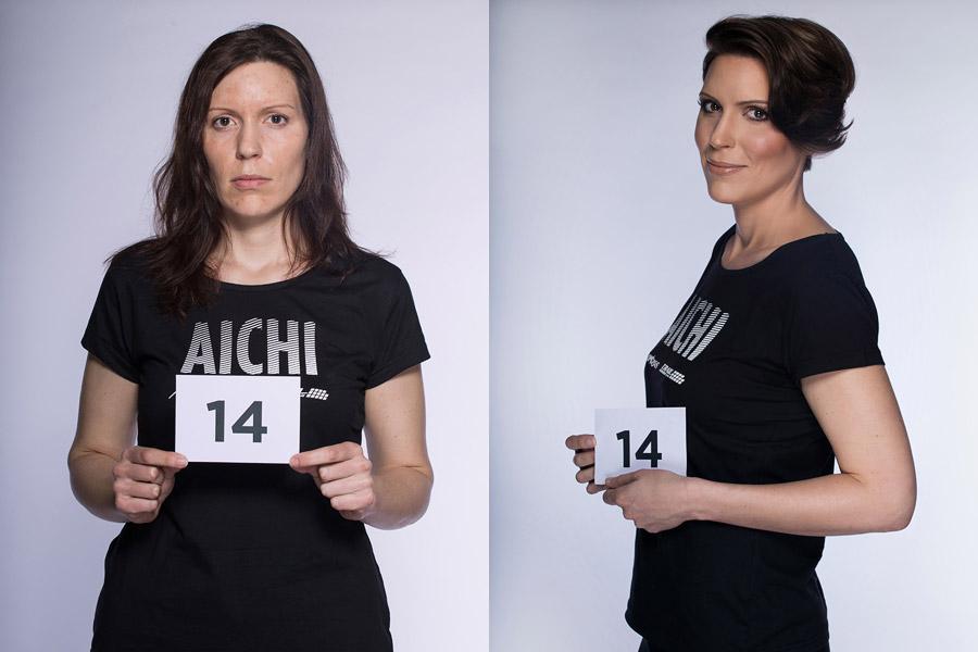 Premeny AICHI 2015 (13. ročník) – Jan Rigó, Kadernícke štúdio Mierové Námestie 2, Karlovy Vary (premena 14)