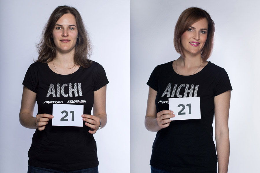 Premeny AICHI 2015 (13. ročník) – Klára Doležalová, Bomton Brumlovka, Praha (premena 21)