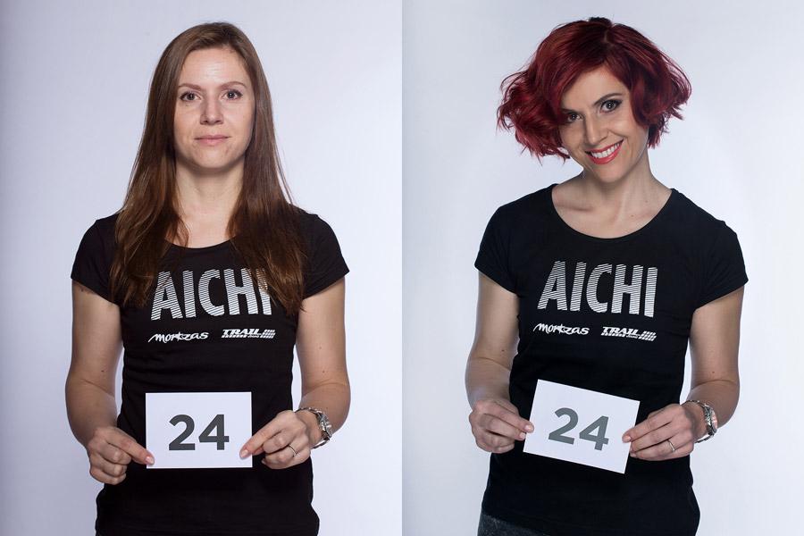 Premeny AICHI 2015 (13. ročník) – Dagmar Abdel Popová, Salon VUE.010, Hradec Kralové (premena 24)