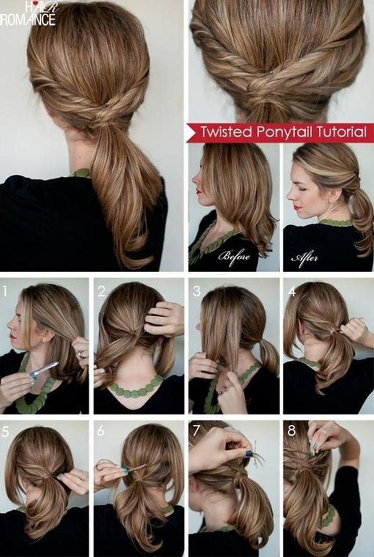 Jednoduché účesy pre dlhé vlasy na leto - Ide to aj bez vlasových doplnkov!  Uvážte 7465687d5a8