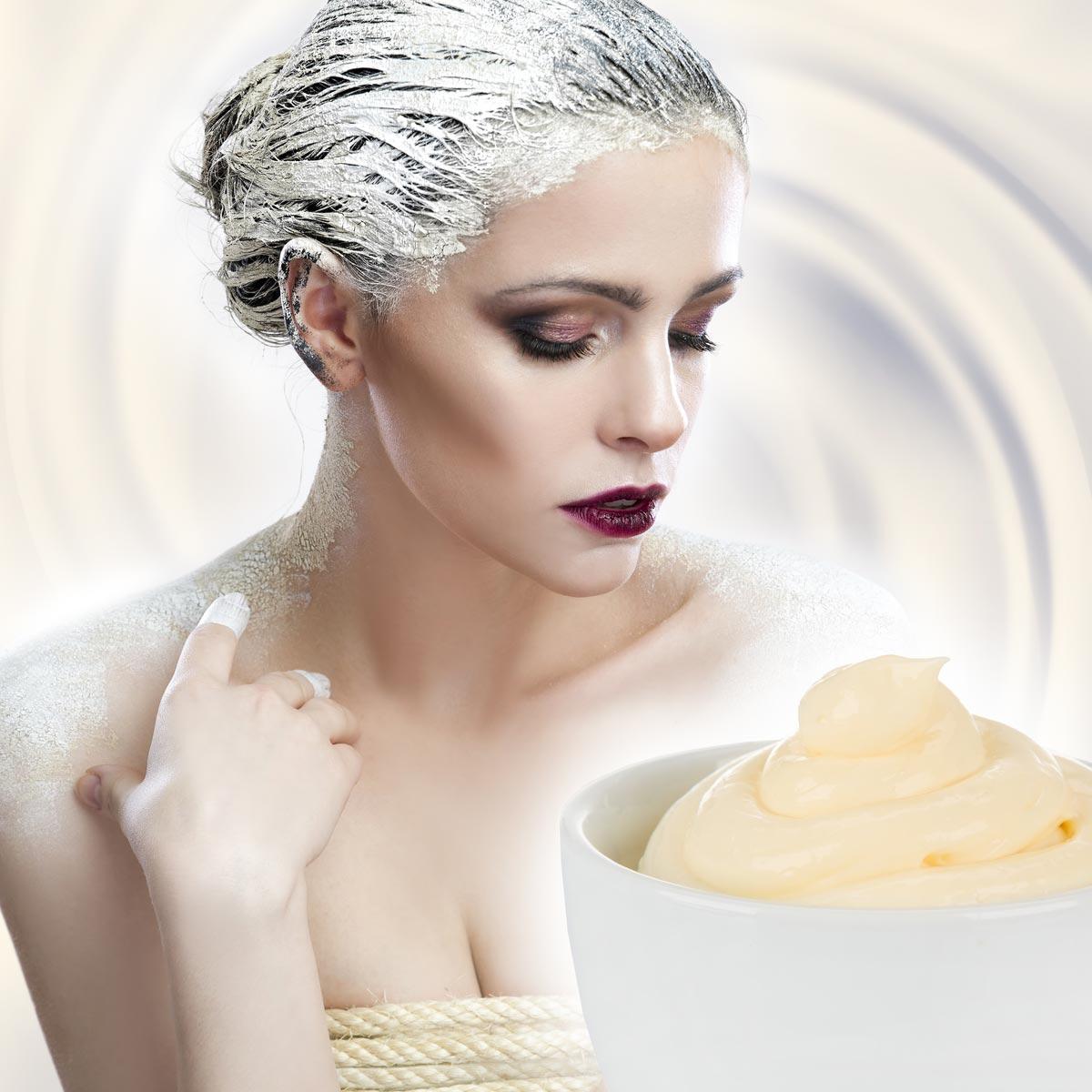 Vyrobte si vlastný prírodný kondicionér na vlasy. Možno vás prekvapí, že ním je úplne obyčajná domáca majonéza.