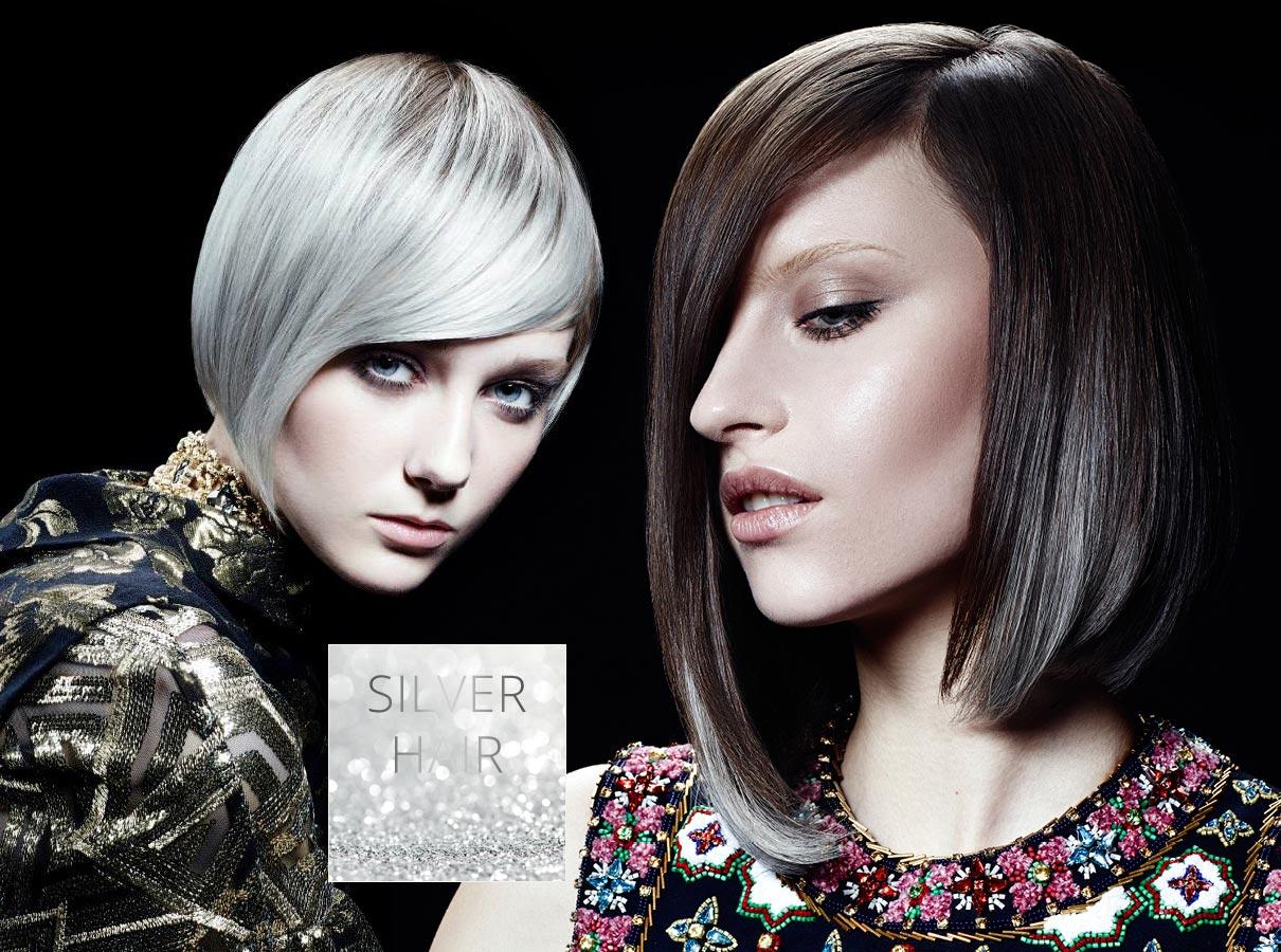 Trendy farby pre krátke vlasy jeseň/zima 2015/2016: šedivé vlasy sa stali módou!