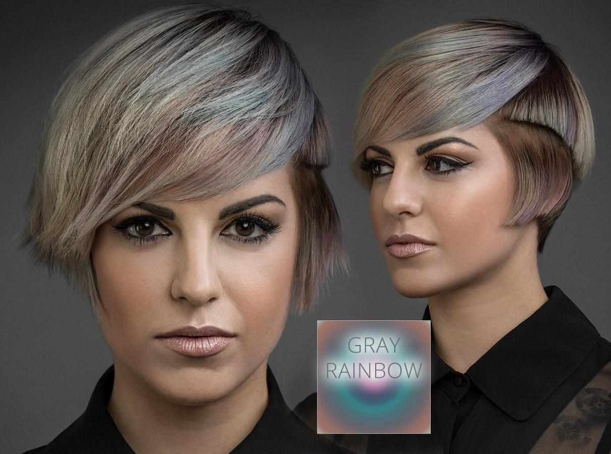Trendy farby pre krátke vlasy jeseň   zima 2015 2016  vlasy vo farbe šedej ae7a7cd7dbc