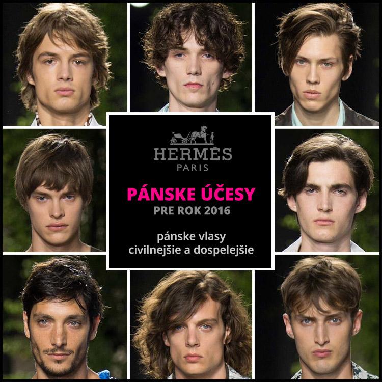 Hermès: prostě pánske vlasy!