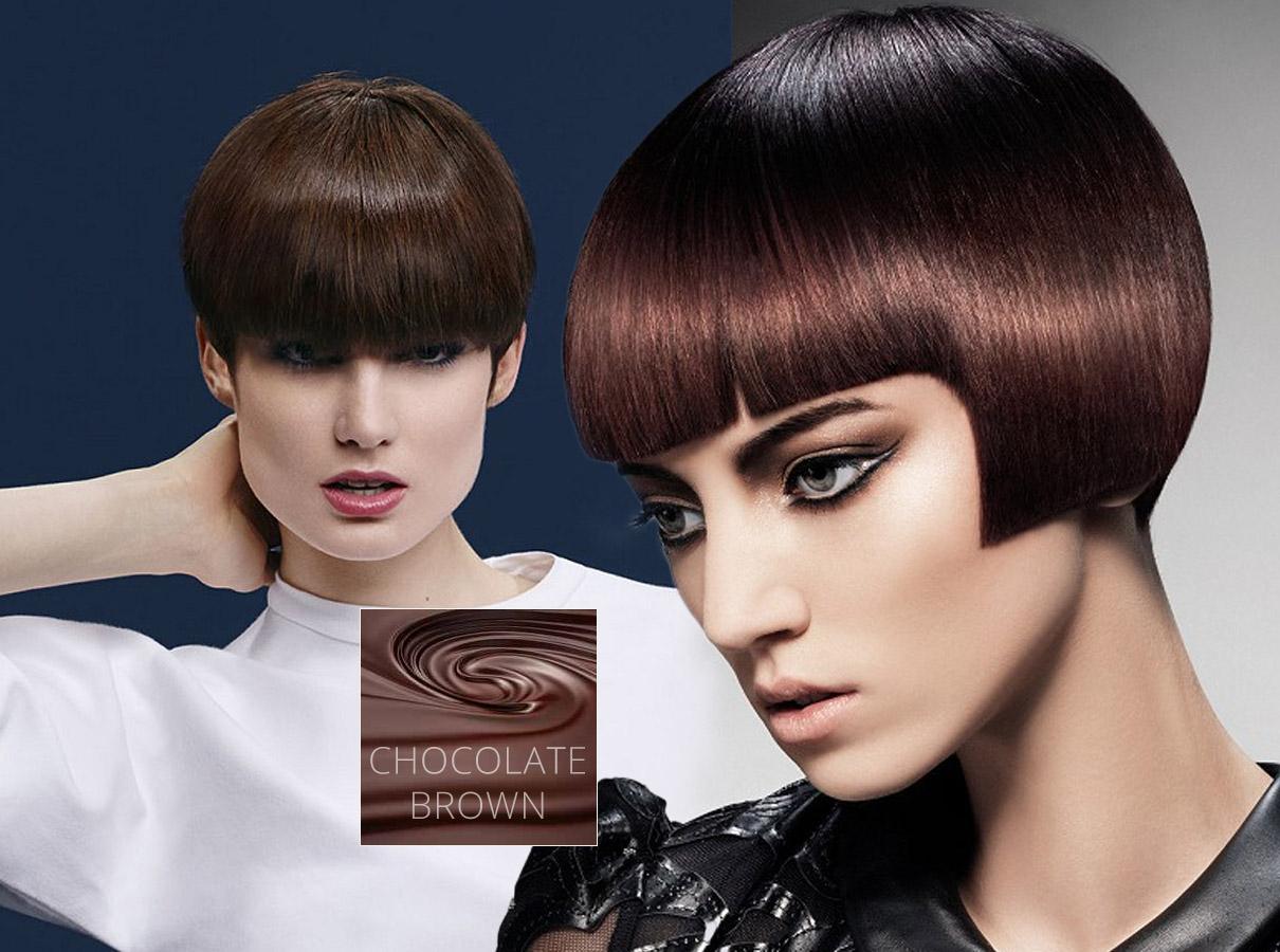 Trendy farby pre krátke vlasy jeseň / zima 2015/2016: brunetky tento rok budú šalieť po čokoládovohnedej farbe vlasov!