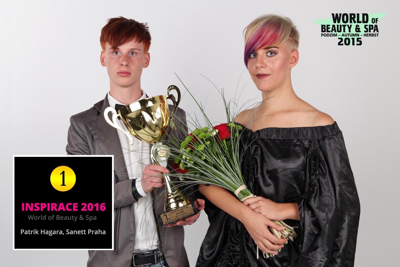 World of Beauty & Spa – Inšpirácie 2016: 1. miesto Patrik Hagara, Sanett