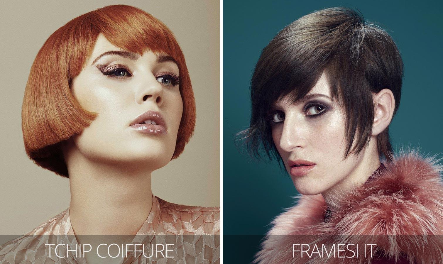 Účesy pre krátke vlasy jeseň/zima 2015/2016 – krátke retro účesy v štýle 60. a 70. rokov