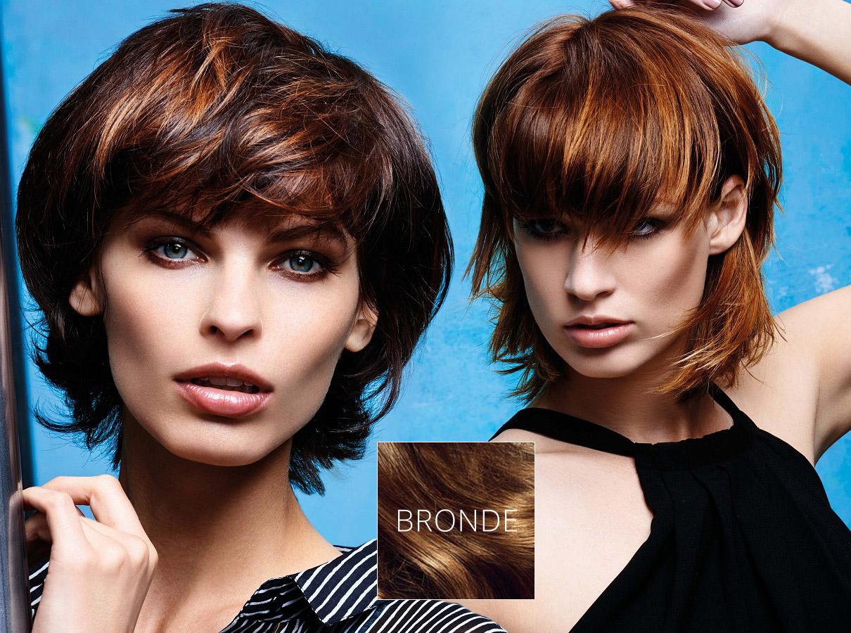 Trendy farby pre krátke vlasy jeseň / zima 2015/2016: bronde pristane aj krátkovláskám!