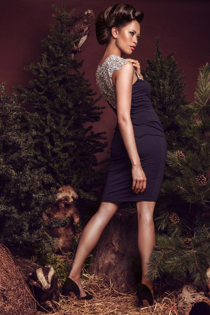 Honza Kořínek jeseň/zima 2015/2016 – kolekcia In THE woods: Monika Leová