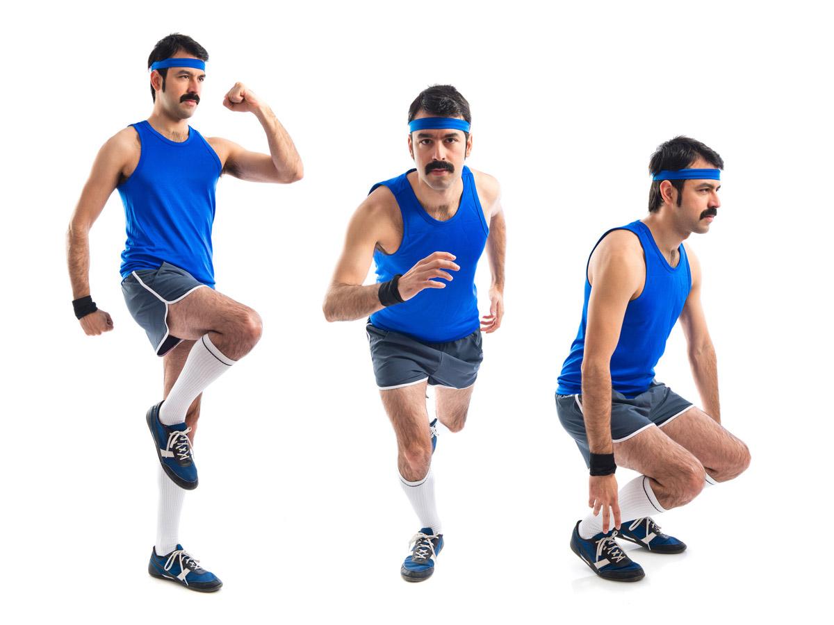 Movember je tiež o slove MOVE! Začnite sa hýbať pre svoje fyzické i psychické zdravie. S fúzikmi na športovisku rozhodne zaujmete!