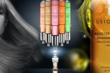 Máte problematické alebo poškodené vlasy? Pomôže vám expresná regenerácia vlasov. Pod názvom Fusio-Dose ju ponúka salóny Kérastase.