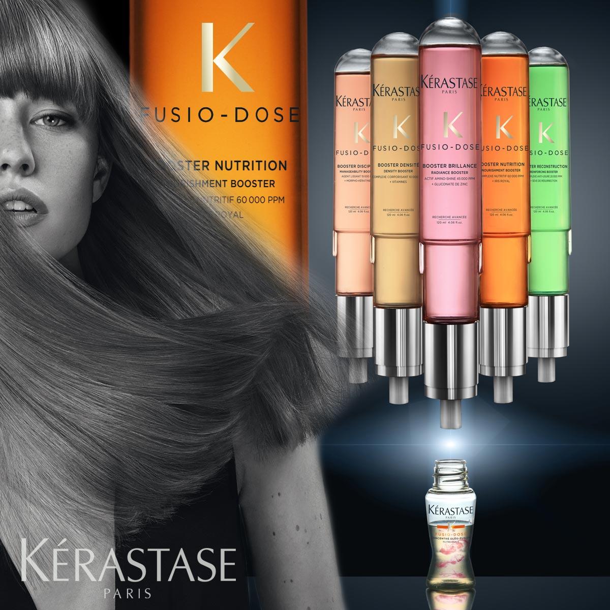 Expresná regenerácia vlasov je teraz možná vďaka službe salónov Kérastase – Fusio Dose.
