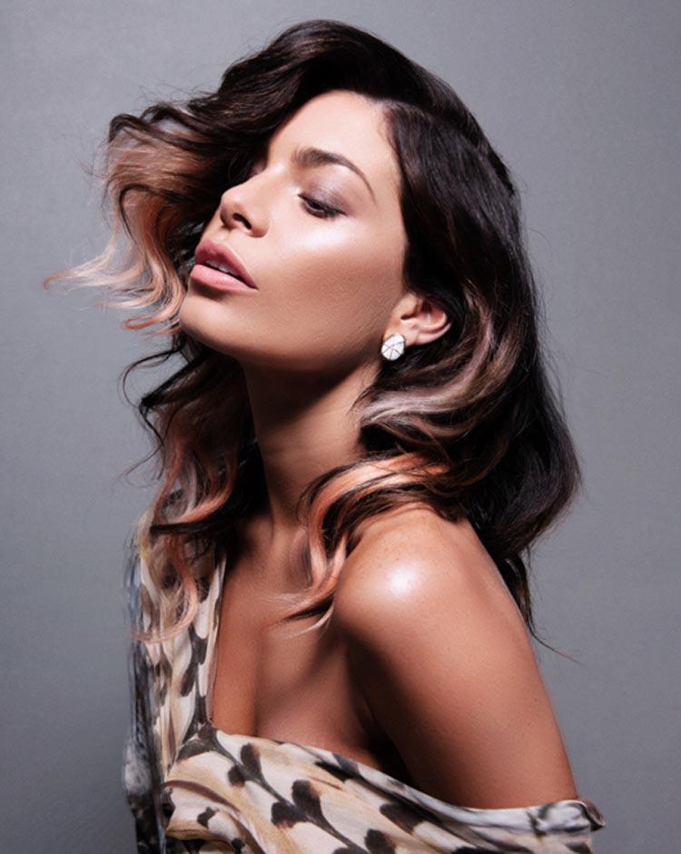 Vlasy, farby a inšpirácia dúhou – to sú dúhové vlasy v účesoch Tigerlamb.