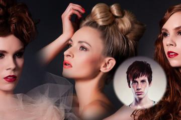 Český kaderník a vlasový štylista Patrik Hagara vytvoril novú kolekciu romantických spoločenských účesov inšpirovaných anjelmi v ženskom tele.