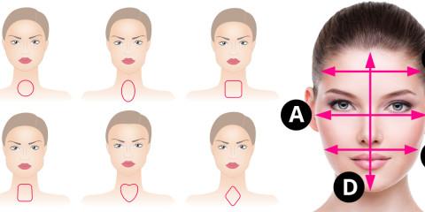 Kladiete si otázku, aký je môj tvar tváre? Poďte sa pozrieť, ako ľahko zistíte, či máte okrúhly, oválný, štvorcový, obdĺžnikový alebo srdcovitý tvar tváre.