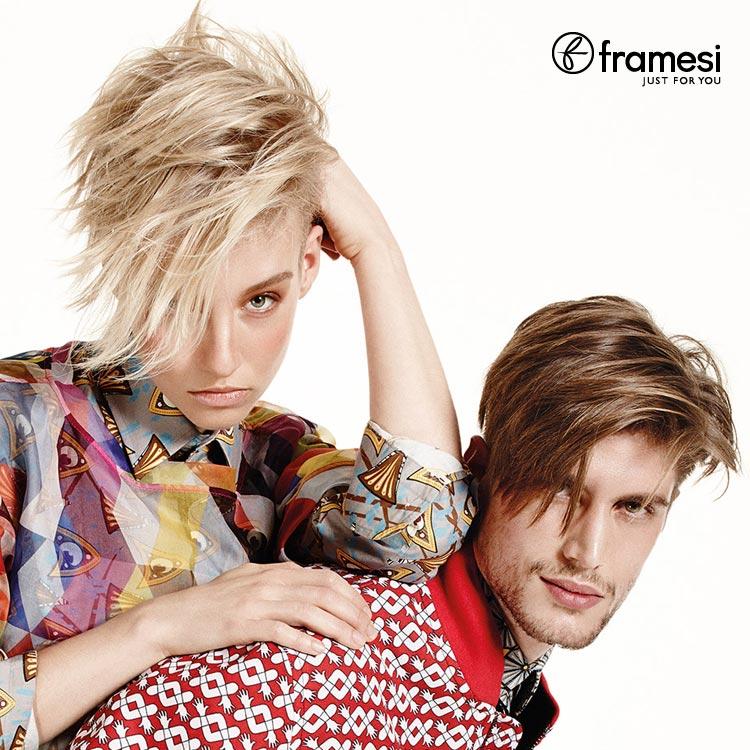 Módne trendy pre jar 2015 podľa Framesi: móda vs. účesy ako mix štýlov!