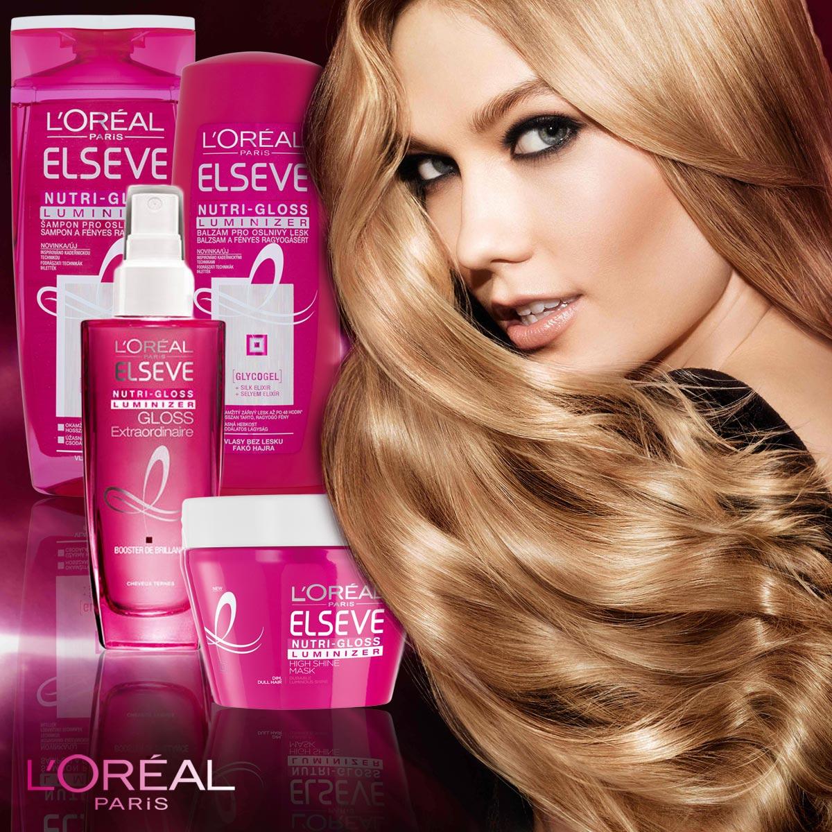 L'Oréal Paris prišiel s novou kozmetikou pre lesk vlasov – Nutri-Gloss Luminizer.