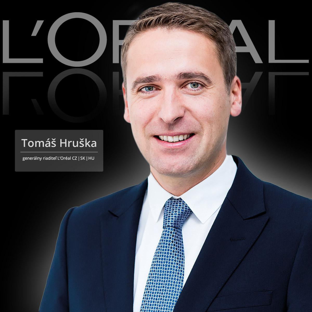 Tomáš Hruška je nový generálny riaditeľ L'Oréal pre Česko, Slovensko a Maďarsko.